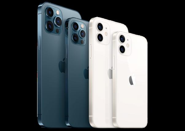 La familia iPhone 12 al completo